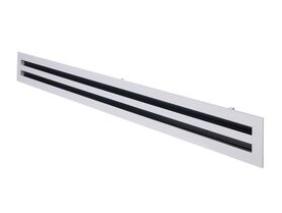 Bradflo U-Blade Linear Diffuser 2 Slot Complete 1000mm